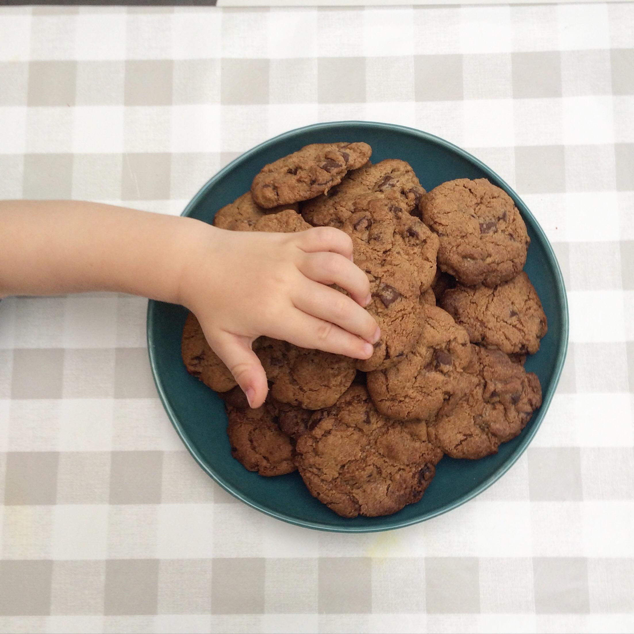 Smile! Chocolade koekjes